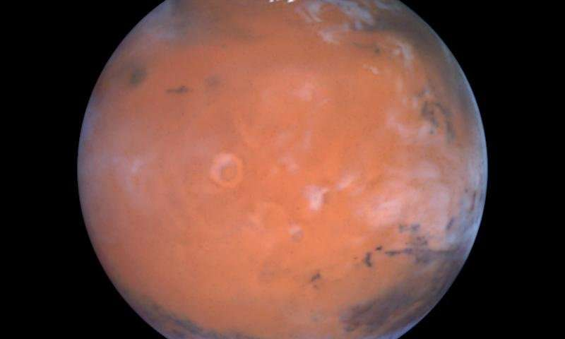 A fresh look at older data yields a surprise near the martian equator